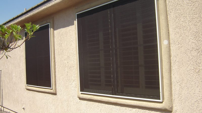 how to make solar screens for windows